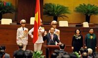 ท่านเหงียนซวนฟุ๊กได้รับเลือกเป็นนายกรัฐมนตรีเวียดนามวาระปี 2016-2021