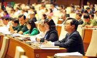 ผู้มีสิทธิ์เลือกตั้งทั่วประเทศแสดงความเชื่อมั่นต่อเนื้อหาสำคัญของการประชุมครั้งแรก รัฐสภาสมัยที่ 14
