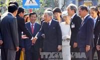 สมเด็จพระจักรพรรดิอากิฮิโตะทรงแสดงความประทับใจต่อการต้อนรับอย่างสมพระเกียรติของประชาชนกรุงเก่าเว้
