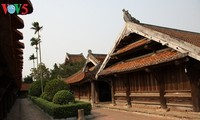 สถาปัตยกรรมพิเศษของวัดแกวท้ายบิ่งห์ในภาคเหนือเวียดนาม