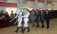 พิธีเคารพและฝังอัฐิของทหารอาสาและผู้เชี่ยวชาญเวียดนามที่เสียชีวิตในประเทศลาวและกัมพูชา