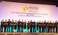 การประชุมเจ้าหน้าที่อาวุโสอาเซียน + 3 และ EAS