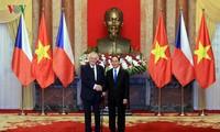 ความสัมพันธ์มิตรภาพที่มีมาช้านานและความร่วมมือในหลายด้านระหว่างเวียดนามกับสาธารณรัฐเช็ก