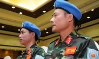 เวียดนามพร้อมเข้าร่วมกิจกรรมต่างๆของกองกำลังรักษาสันติภาพของสหประชาชาติ