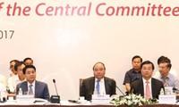 ปฏิบัติแนวทางรัฐบาลเดินพร้อมกับเศรษฐกิจภาคเอกชนตามมติของการประชุมครั้งที่5คณะกรรมการกลางพรรค
