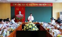 รองนายกรัฐมนตรีและรัฐมนตรีต่างประเทศฝามบิ่งมิงห์ลงพื้นที่จังหวัดท้ายเงวียน