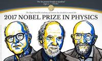 รางวัลโนเบลสาขาฟิสิกส์ปี 2017 ยกย่องผลงานการค้นพบคลื่นความโน้มถ่วง