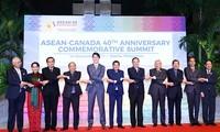นายกรัฐมนตรีเวียดนามเข้าร่วมการประชุมสุดยอดฉลองครบรอบ40ปีความสัมพันธ์อาเซียน–แคนาดาและอาเซียน–อียู