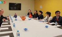 ประธานสภาแห่งชาติเวียดนามพบปะกับนายกสมาคมมิตรภาพออสเตรเลีย – เวียดนาม