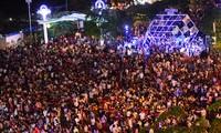 บรรยากาศการต้อนรับปีใหม่ในเวียดนาม