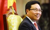 ผลสำเร็จในงานด้านการต่างประเทศของเวียดนามในปี 2017