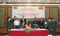 เวียดนามและสหรัฐลงนามในบันทึกช่วยจำเกี่ยวกับการเริ่มกระบวนการชะล้างสารพิษสีส้มในสนามบินเบียนหว่า