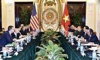 การสนทนาทางการเมือง – ความมั่นคง – กลาโหมเวียดนาม – สหรัฐครั้งที่ 9