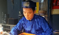 ศิลปินด่าวดิ่งจุงกับการฟื้นฟูภาพพิมพ์ไม้พื้นเมืองกิมหว่าง
