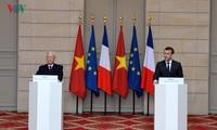 นิมิตรหมายนำความสัมพันธ์ระหว่างเวียดนามกับฝรั่งเศสและคิวบาขึ้นสู่ขั้นสูงใหม่