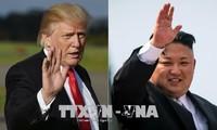 สหรัฐและสาธารณรัฐเกาหลีเตรียมให้แก่การพบปะสุดยอดกับสาธารณรัฐประชาธิปไตยประชาชนเกาหลี
