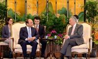 การเยือนสิงคโปร์และการเข้าร่วมการประชุมระดับสูงอาเซียน 32 ของนายกรัฐมนตรีเวียดนามประสบความสำเร็จ