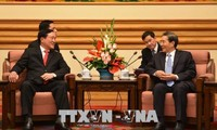 นายเหงียนหว่าบิ่งห์ หัวหน้าศาลประชาชนสูงสุดเยือนประเทศจีน