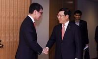 รองนายกรัฐมนตรีฝามบิ่งมิงห์ชื่นชมความช่วยเหลือของญี่ปุ่นต่อเวียดนามในกระบวนการพัฒนาเศรษฐกิจ - สังคม