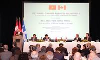 เวียดนามให้การต้อนรับนักลงทุนแคนาดา