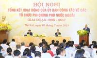 รัฐบาลเวียดนามส่งเสริมและอำนวยความสะดวกให้แก่องค์การเอ็นจีโอต่างประเทศ