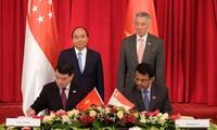 ความสัมพันธ์ระหว่างเวียดนามกับสิงคโปร์: ร่วมกันมุ่งสู่อนาคต