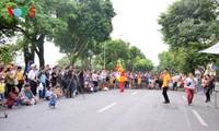 บรรยากาศแห่งเอเชียนเกมส์ 2018 – ปาเล็มบัง – อินโดนีเซียในกรุงฮานอย