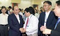 นายกรัฐมนตรีเหงียนซวนฟุ๊กเข้าร่วมการประชุมส่งเสริมการลงทุนจังหวัดบิ่งเฟือก