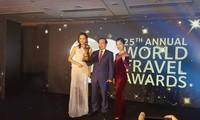 เวียดนามรับรางวัลการท่องเที่ยวโลกปี 2018