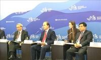 """ฟอรั่มเศรษฐกิจภูมิภาคตะวันออกครั้งที่ 4: เวียดนามเข้าร่วมการประชุม """"รัสเซีย – อาเซียน"""""""