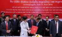 เวียดนามปฏิบัติโครงการขุดเจาะเหมืองแร่ใหญ่ที่สุดในประเทศลาว