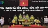 ประชาชนเวียดนามแสดงความเสียใจต่อการถึงแก่อสัญกรรมของประธานประเทศเจิ่นด่ายกวาง