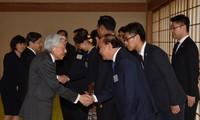 นายกรัฐมนตรีเหงียนซวนฟุ๊กและผู้นำประเทศแม่โขงเข้าเฝ้าสมเด็จพระจักรพรรดิอากิฮิโตะ