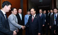 นายกรัฐมนตรีเวียดนามพบปะกับสถานประกอบการจีน