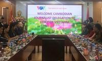 สถานีวิทยุเวียดนามสนับสนุนด้านเทคนิคให้แก่หน่วยงานกระจายเสียงของกัมพูชาต่อไป