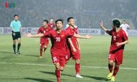 ฟุตบอลชายทีมชาติเวียดนามผ่านเข้ารอบรองชนะเลิศด้วยการเป็นแชมป์กลุ่มเอในการแข่งขันฟุตบอลเอเอฟเอฟ ซูซูกิ คัพ 2018