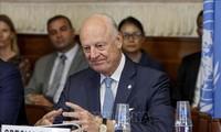 ทูตพิเศษของสหประชาชาติพิจารณาอย่างรอบคอบเกี่ยวกับการจัดตั้งคณะกรรมการรัฐธรรมนูญซีเรีย