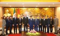 """""""การสนทนาระดับสูงเกี่ยวกับความสัมพันธ์ด้านเศรษฐกิจอาเซียน – อิตาลีครั้งที่ 3"""" จะมีขึ้นที่กรุงฮานอย"""