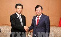 รองนายกรัฐมนตรีจิ่งดิ่งหยุง ส่งเสริมความร่วมมือกับญี่ปุ่นในการพัฒนาโครงสร้างพื้นฐานและการรับมือภัยธรรมชาติ
