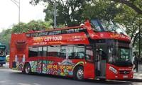 รถเมล์สองชั้น เที่ยวตัวเมืองสัมผัสบรรยากาศของฮานอย