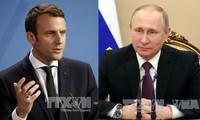 ผู้นำรัสเซียและฝรั่งเศสพูดคุยทางโทรศัพท์เกี่ยวกับสถานการณ์ในซีเรียและยูเครน