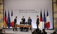เยอรมนีและฝรั่งเศสลงนามสนธิสัญญามิตรภาพฉบับใหม่