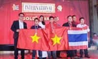 """นักเรียนฮานอยคว้ารางวัลในการแข่งขัน """"International Talent Mathematics Contest 2019"""""""