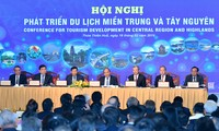 การประชุมพัฒนาการท่องเที่ยวภาคกลางและเขตที่ราบสูงเตยเงวียน