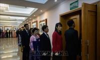 สาธารณรัฐประชาธิปไตยประชาชนเกาหลีประกาศผลการเลือกตั้งรัฐสภา