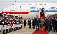 ประธานาธิบดีสาธารณรัฐเกาหลีเยือนกัมพูชาอย่างเป็นทางการ