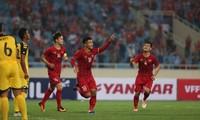 เวียดนามชนะบรูไนในการแข่งขันฟุตบอลชายชิงแชมป์เอเชียยู 23  อยู่อันดับหนึ่งในกลุ่มเค