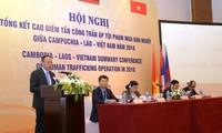 สรุปผลช่วงเวลาเร่งด่วนในการป้องกันและปราบปรามอาชญากรรมค้ามนุษย์ระหว่างเวียดนามกับลาวและกัมพูชา