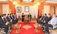 ประธานสภาแห่งชาติเวียดนาม เหงียนถิกิมเงิน เริ่มการเยือนประเทศโมร็อกโกอย่างเป็นทางการ