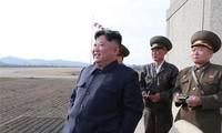 ผู้นำสาธารณรัฐประชาธิปไตยประชาชนเกาหลี คิมจองอึน เข้าร่วมสังเกตการณ์การทดสอบอาวุธทางยุทธวิธีรุ่นใหม่
